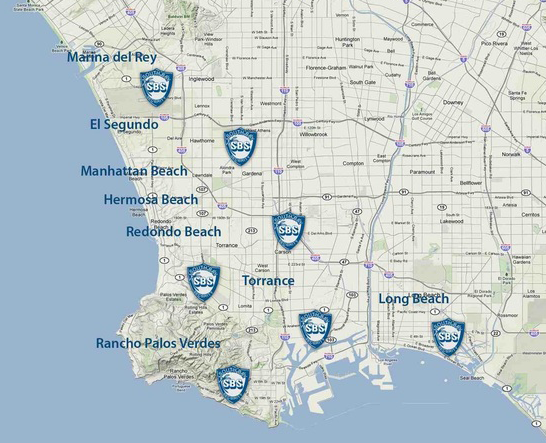 South Bay Security locations